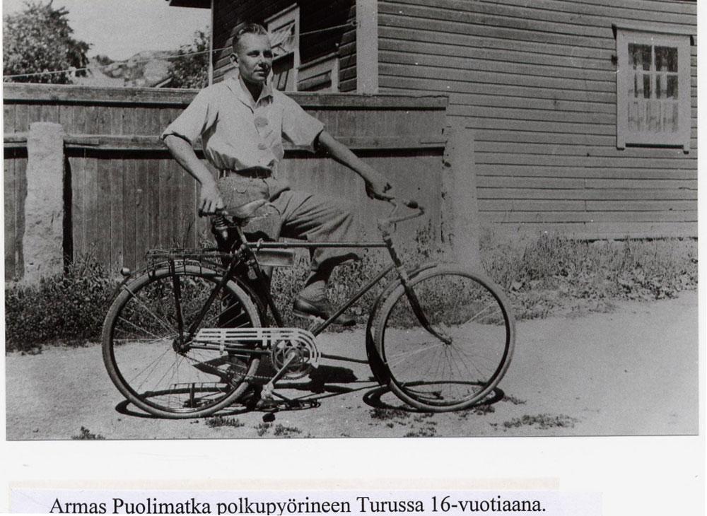 Armas Puolimatka 16v Turku