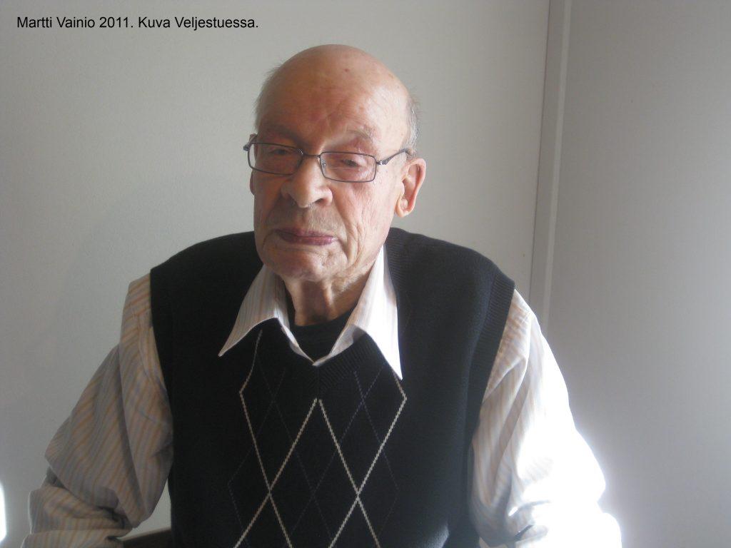 Martti Vainio vuonna 2011