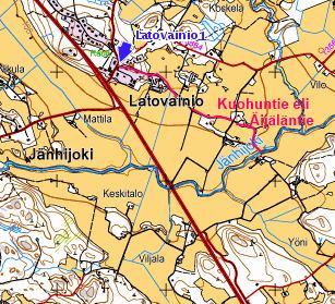 Kartta Latovainio